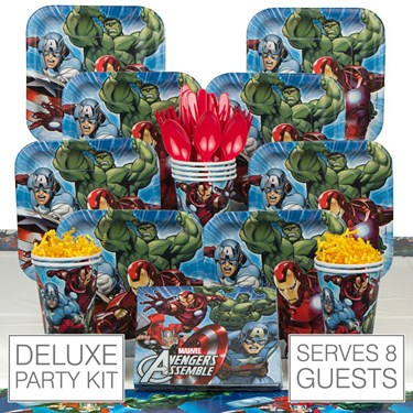 Avengers 8 Guest Party Pack