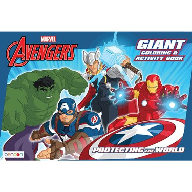 Avengers Coloring Book (1)