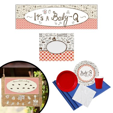 Baby-Q Gender Reveal All Inclusive Party Kit