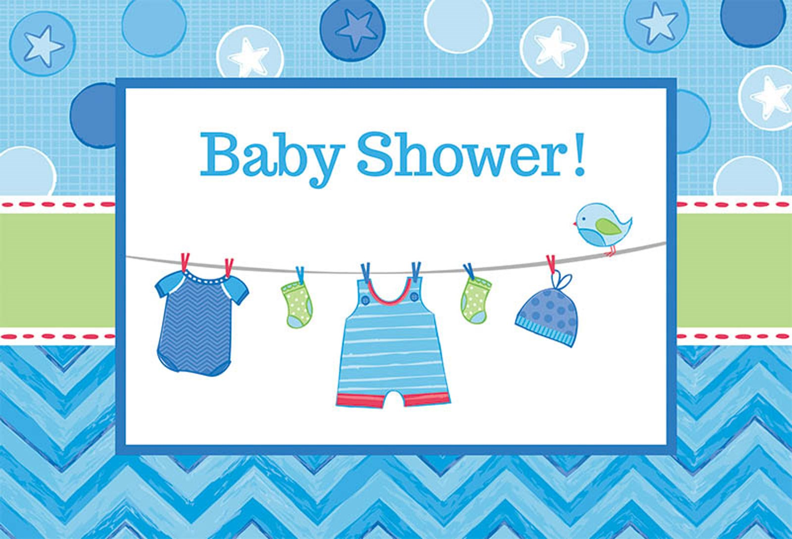 Baby Shower Boy Shower With Love Invitations 8