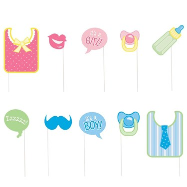 Baby Shower Photo Props Set (10)
