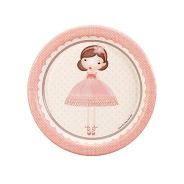 Ballerina Tutu Dessert Plates