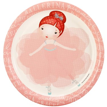 Ballerina Tutu Dinner Plates