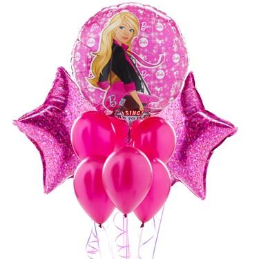 Barbie Rocks Singing Balloon Bouquet