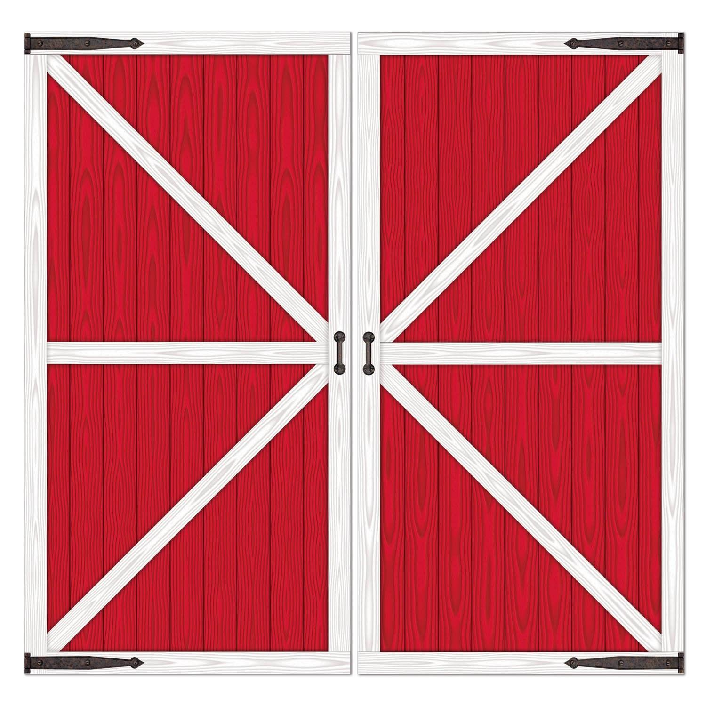 Red Barn Door