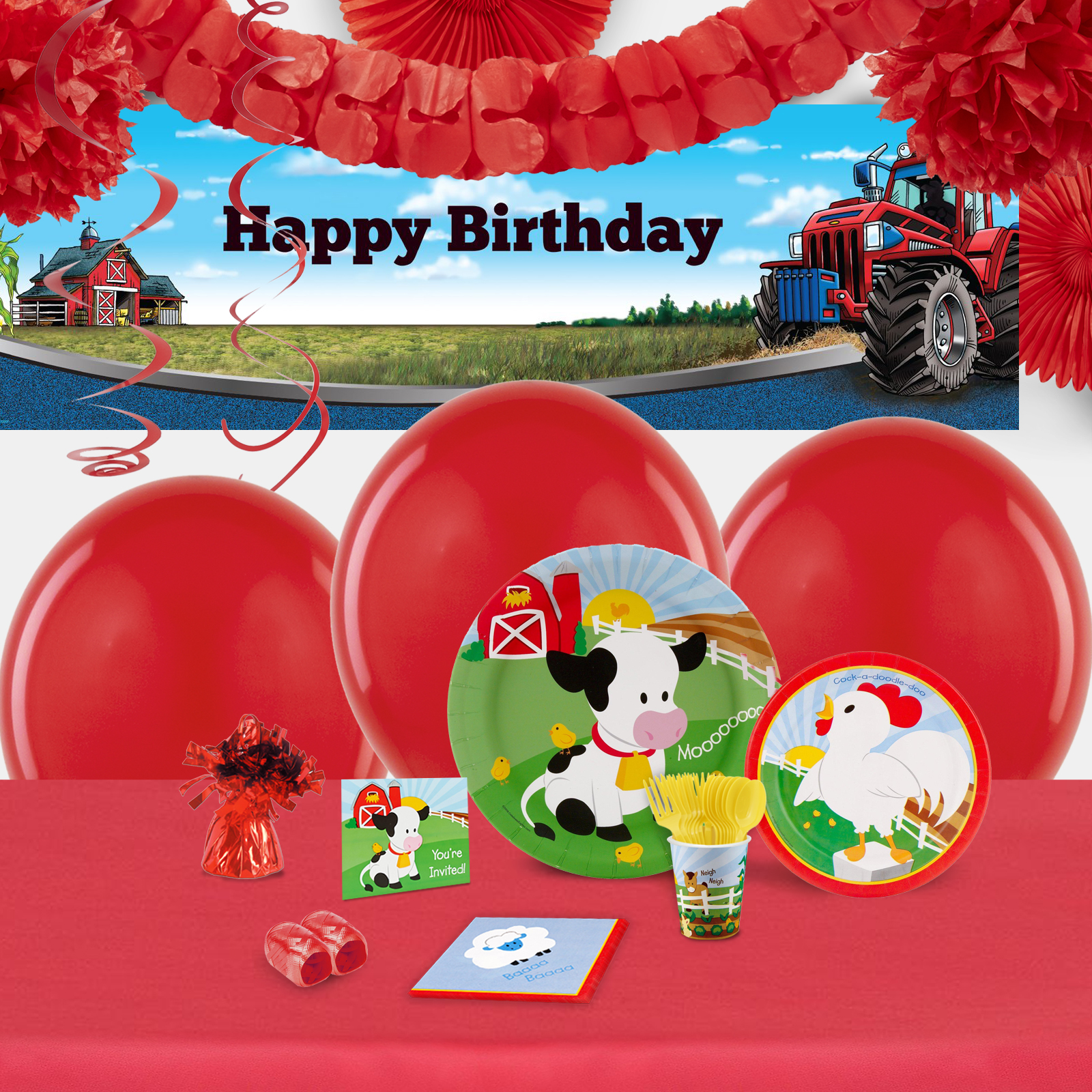 Default Image - Barnyard Party in a Box for 16