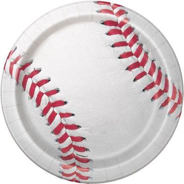 "Baseball 7"" Dessert Plate (8)"