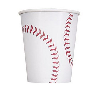Baseball 9oz Paper Cup (8)