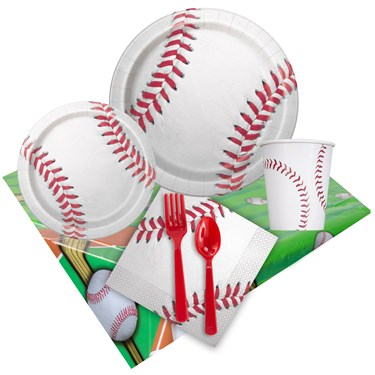 Baseball Fun Party Pack for 8