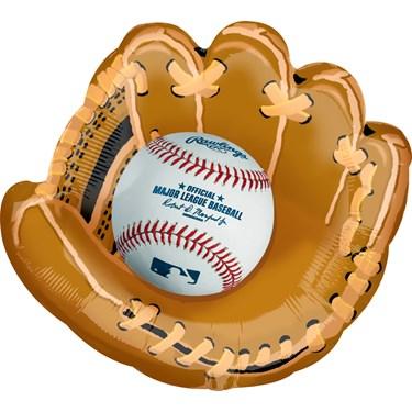 Baseball Jumbo Foil Balloon