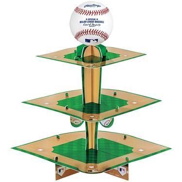 Baseball Treat Stand (1)
