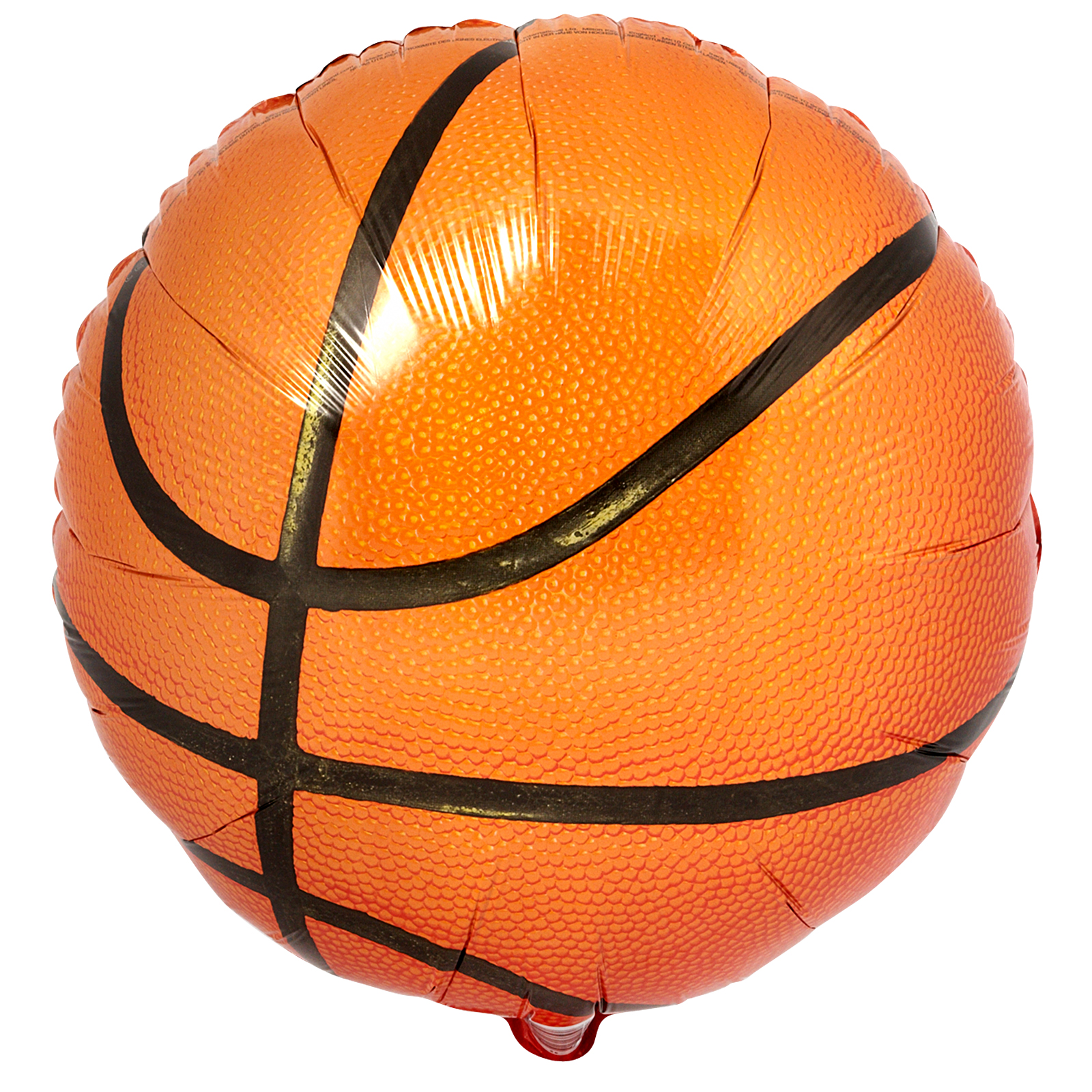 Championship Basketball Balloon - The Party Starts Here