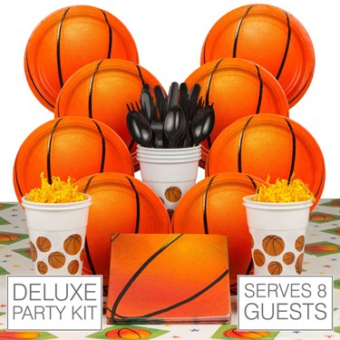 Basketball Party 8 Guest Party Pack