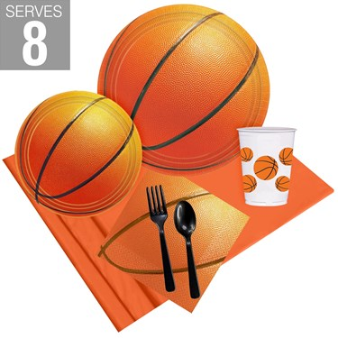 Basketball Party Pack For 8