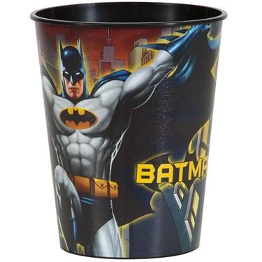 Batman 16oz Plastic Favor Cup (1)