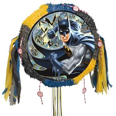 Batman Drum Pull Pinata
