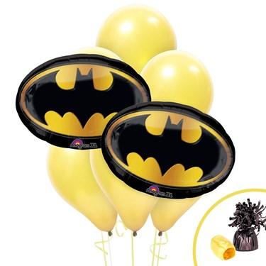 Batman Logo Jumbo Balloon Bouquet