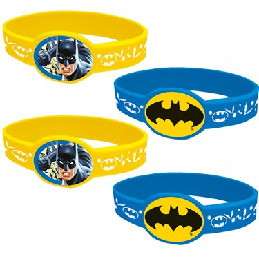 Batman Rubber Bracelet Favors (4)