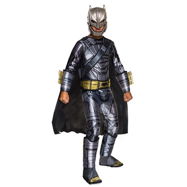 Batman v Superman: Dawn of Justice - Deluxe Batman Armored Kids Costume