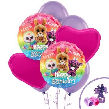 Beanie Boos Happy Birthday Balloon Bouquet
