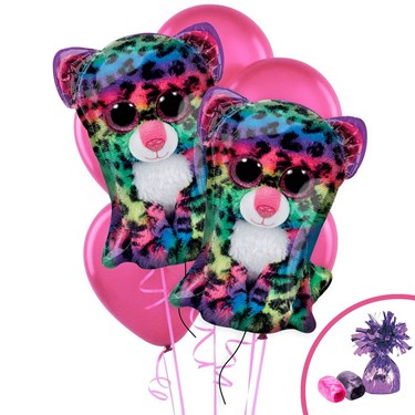 Beanie Boos Happy Birthday Jumbo Balloon Bouquet