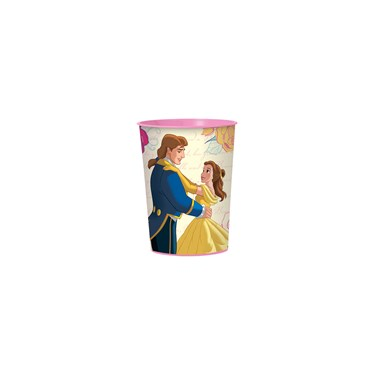 Beauty and the Beast 16oz Plastic Favor