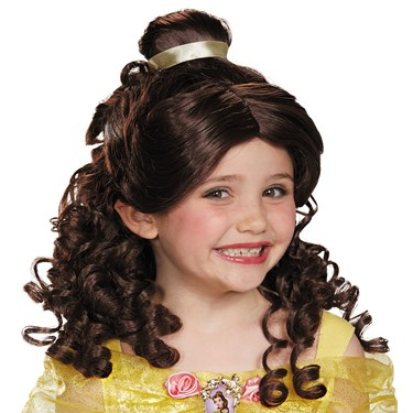 Beauty and the Beast Belle Child Wig