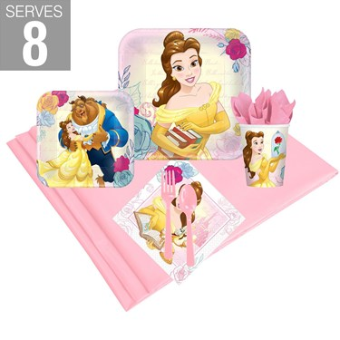 Beauty and the Beast Party Pack for 8