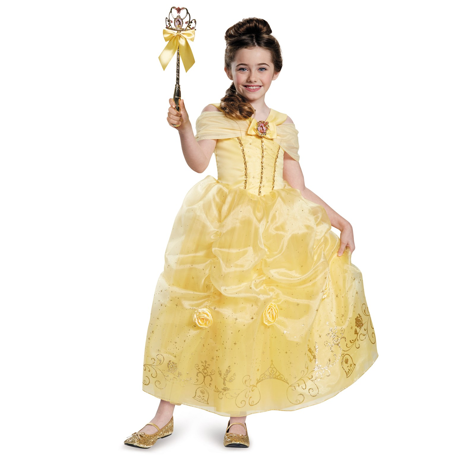 Beauty And The Beast Storybook Belle Prestige Child Toddler Costume