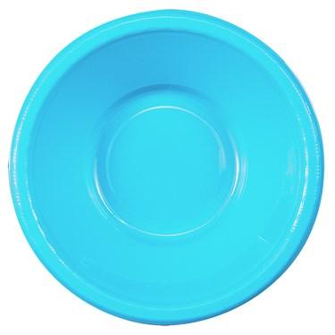 Bermuda Blue (Turquoise) Plastic Bowls