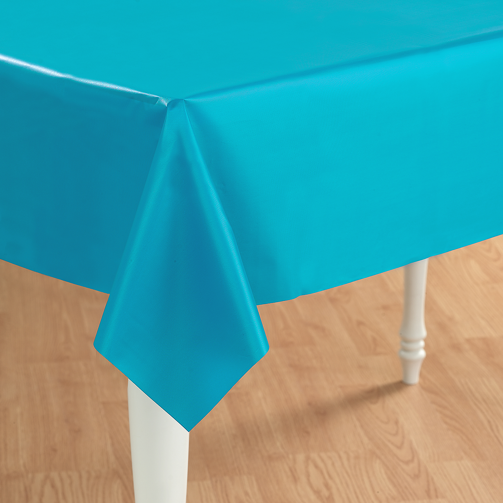 Bermuda Blue (Turquoise) Plastic Tablecover ...