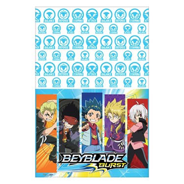 Beyblade Plastic Tablecover (1)