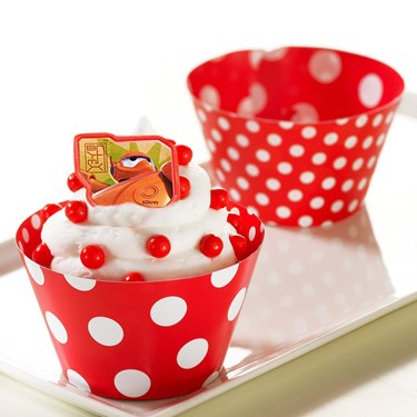 Big Hero 6 Cupcake Wrapper and Pick Kit