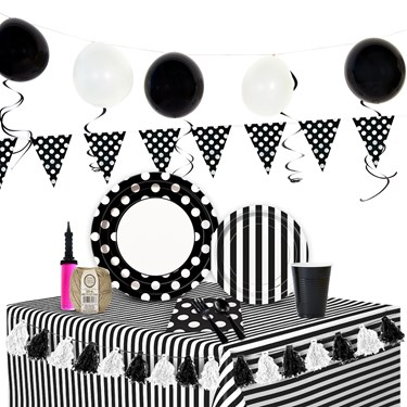 Black & White Ultimate Experience Party Pack for 48