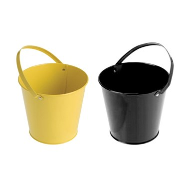 Black & Yellow Buckets (4)
