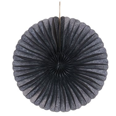 Black Mini Hanging Fan Decorations