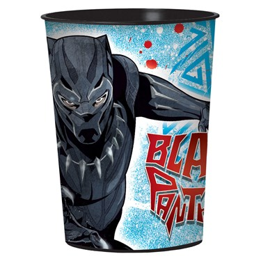 Black Panther 16oz Plastic Favor Cup (1)