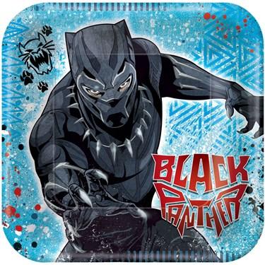 Black Panther Dessert Plate (8)