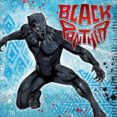 Black Panther Lunch Napkin (16)