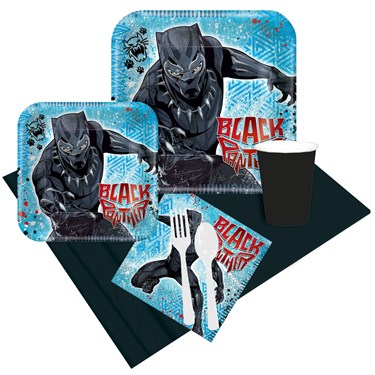 Black Panther Party Pack for 8 Guests