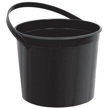 Black Plastic Bucket (Each)