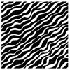 Black Zebra Jumbo Gift Wrap