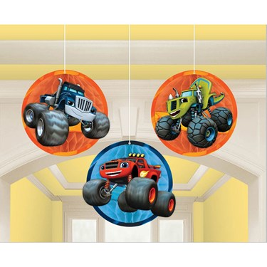 Blaze and the Monster Machines Honeycomb Decor(3)