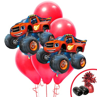 Blaze and the Monster Machines Jumbo Balloon Bouquet