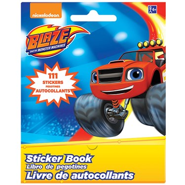 Blaze and the Monster Machines Sticker Booklet(1)