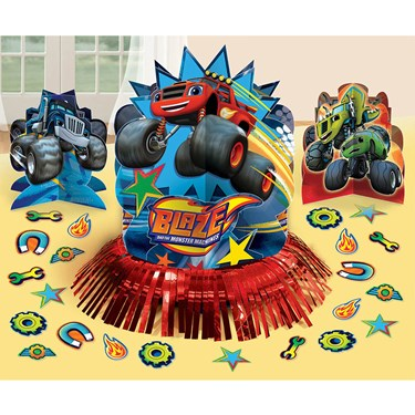 Blaze And The Monster Machines Table Dec