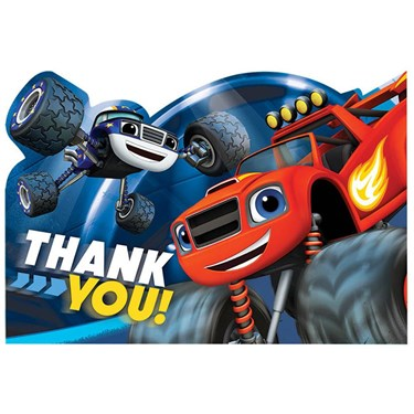 Blaze and the Monster Machines Thank You Notes(8)