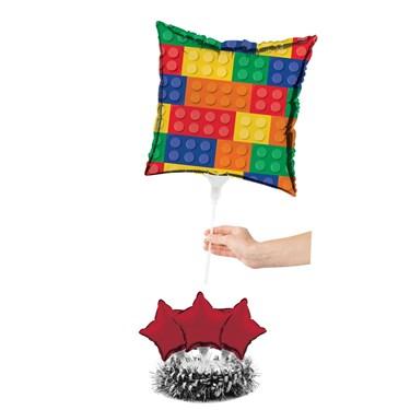 Block Party Balloon Centerpiece