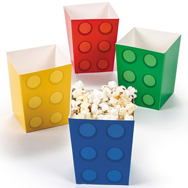 Block Party Popcorn Boxes (24)