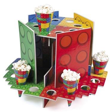 Block Party Tray W/Cones(1)